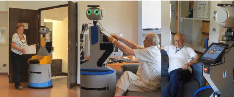 O envelhecimento e os robôs
