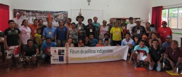 Fórum Regional de Políticas Indigenistas. Defendemos a democracia sem criminalização e com liberdades individuais