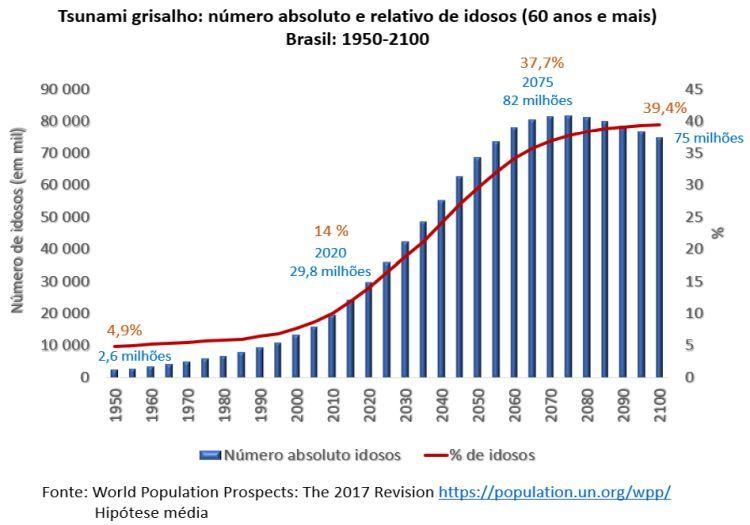 envelhecimento populacional no Brasil