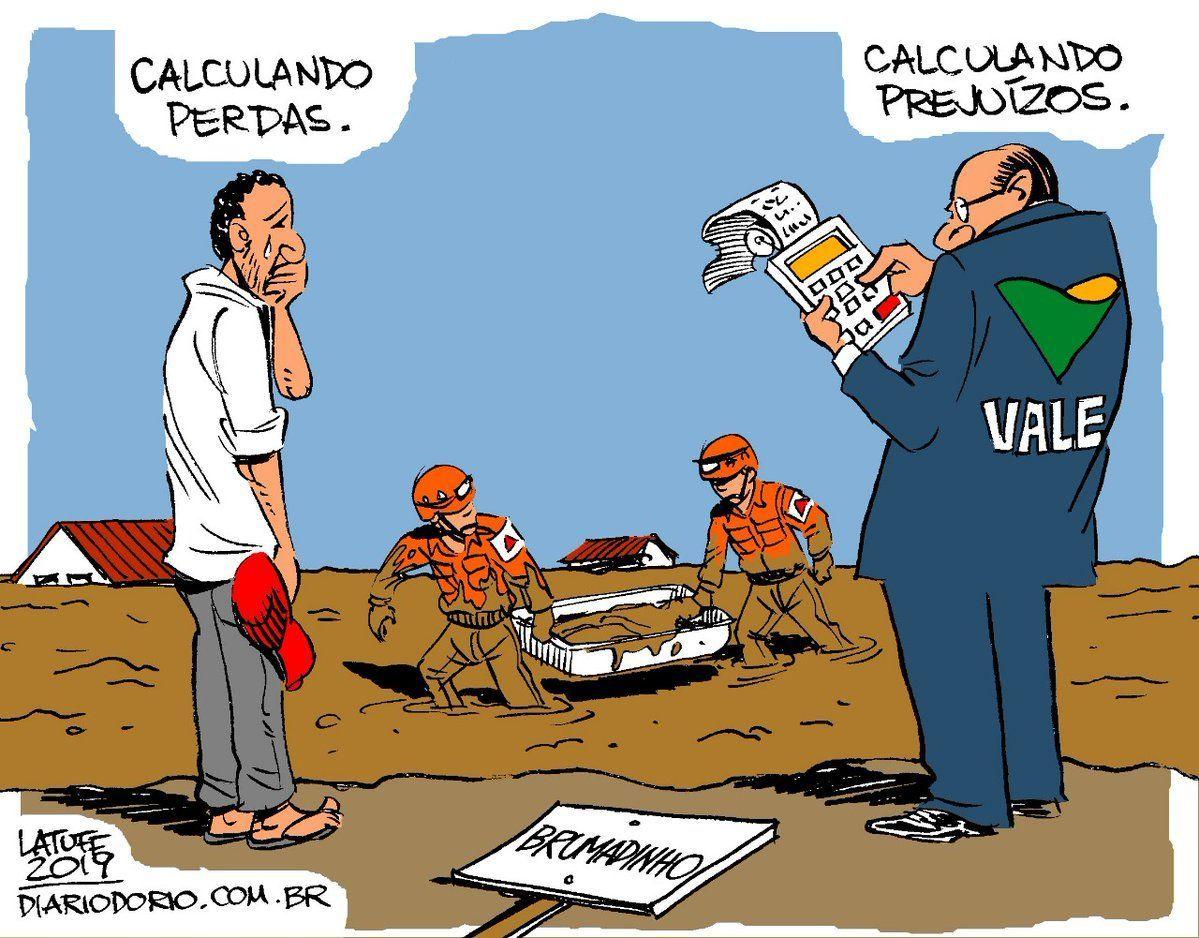 Brumadinho - calculando perdas x calculando prejuízo