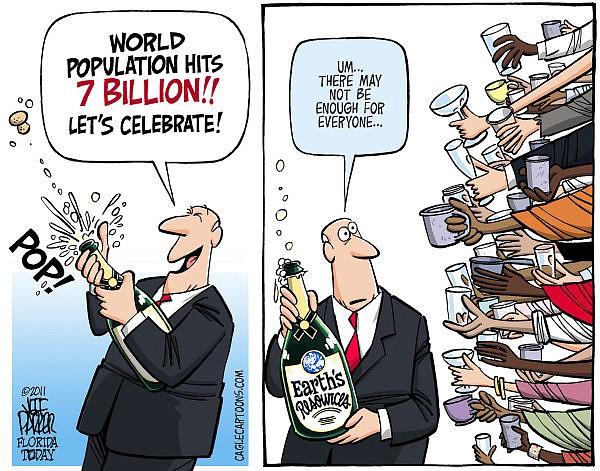 7 bilhões de pessoas