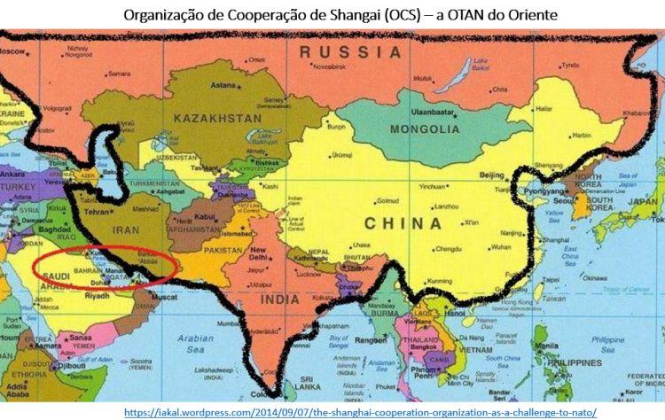 Organização de Cooperação de Shangai (OCS)