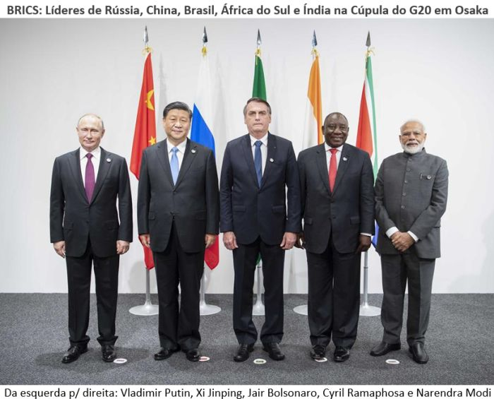 Brics na cúpula do G20