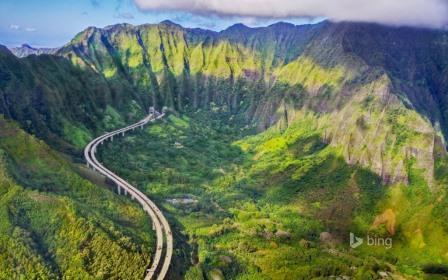 Rodovia no Havaí