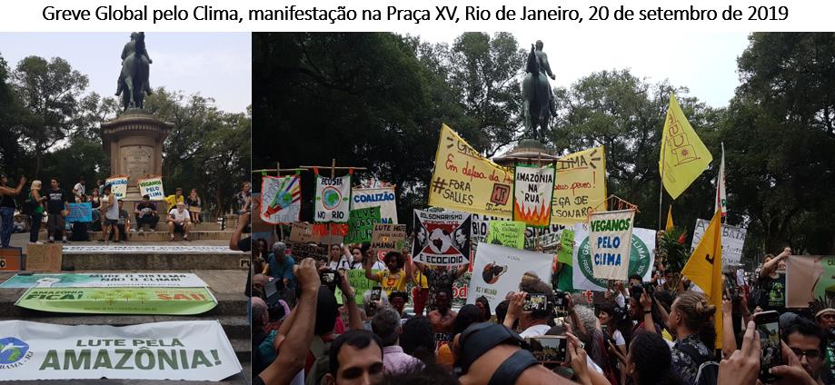 greve global pelo clima, Rio de Janeiro