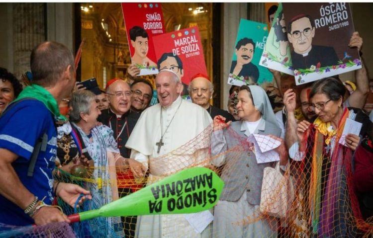 Sínodo da Amazônia com o papa Francisco - 06 10 2019