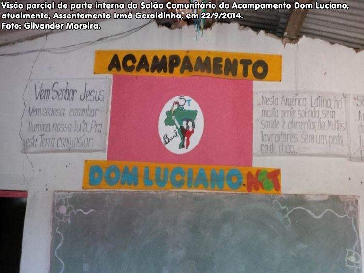 Acampamento Dom Luciano Mendes, no município de Salto da Divisa