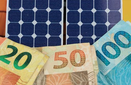 economia com a energia solar