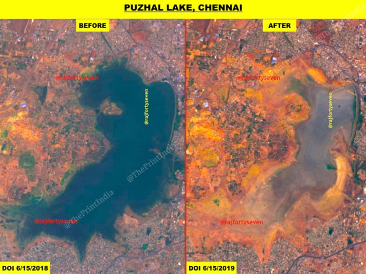 Puzhal Lake