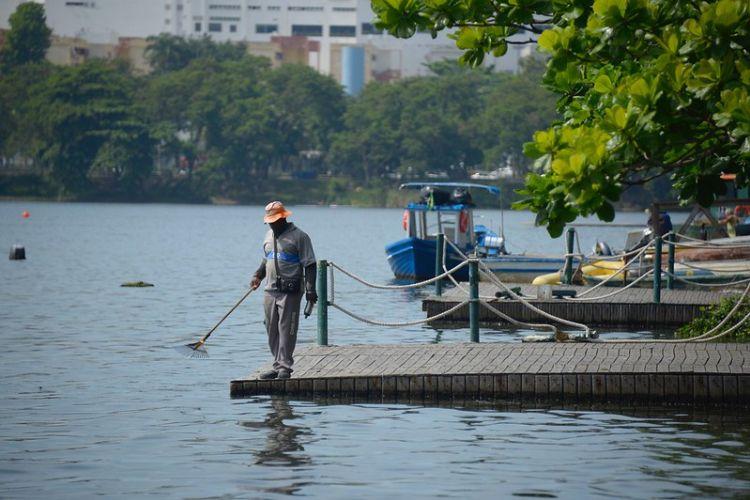 Secretaria Municipal de Meio Ambiente do Rio dá início ao projeto de revitalização da Lagoa Rodrigo de Freitas