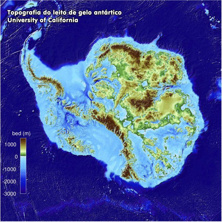 gelo antártico