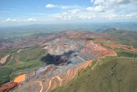 Mina Córrego do Feijão, da mineradora Vale, Brumadinho, MG