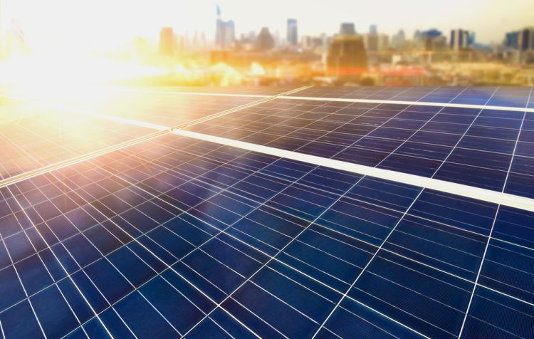 painéis solares