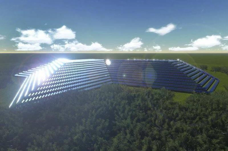 Usina Solar em forma de pirâmide será construída em aterro sanitário de Curitiba