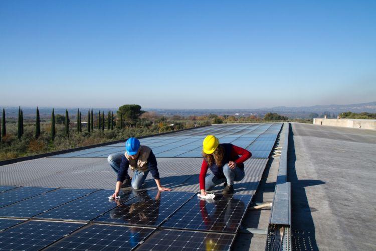instalação de telhado solar