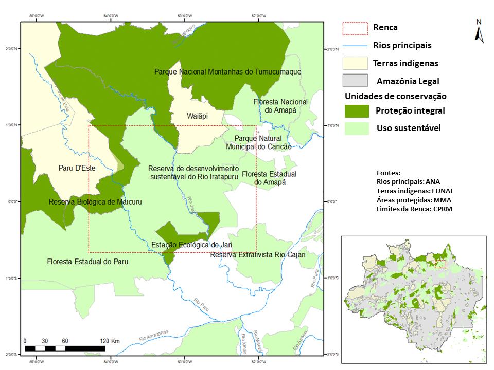 Mineração fragmenta florestas na Amazônia