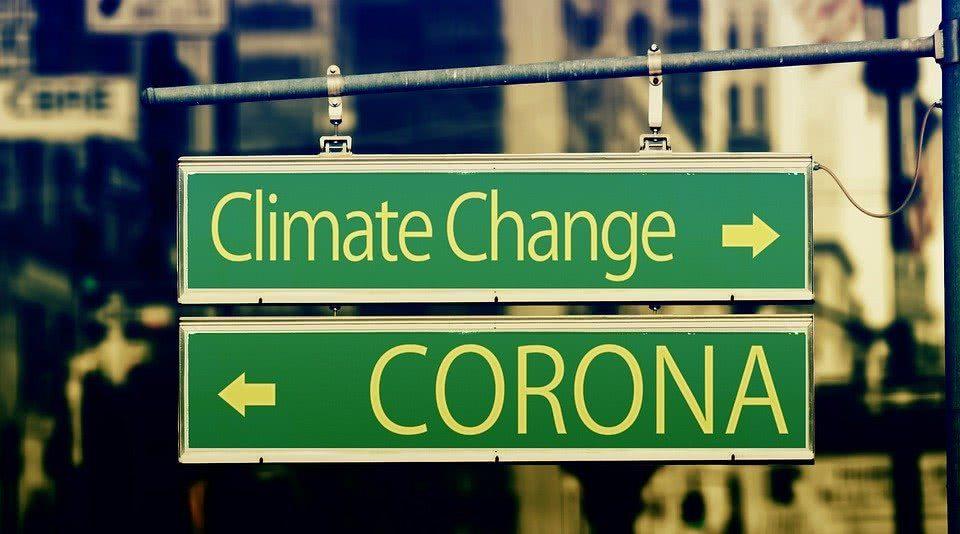 mudanças climáticas coronavírus