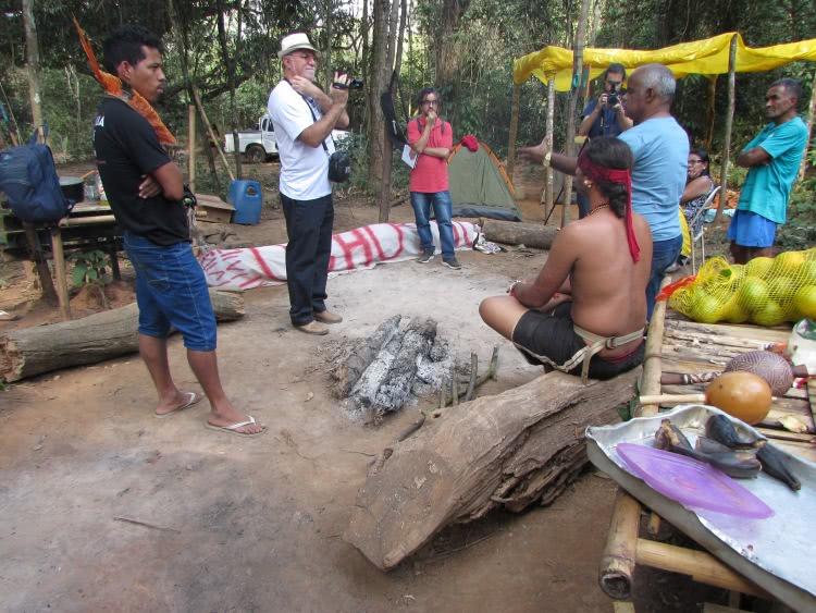 210427 8 reunião de indígenas de várias etnias na retomada indígena de são joaquim de bicas