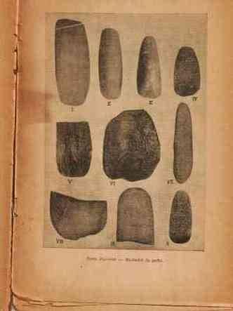 210427 9 fotos de peças arqueológicas encontradas entre 1938 e 1947 na região do horto