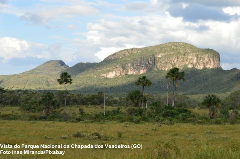 vista do parque nacional da chapada dos veadeiros